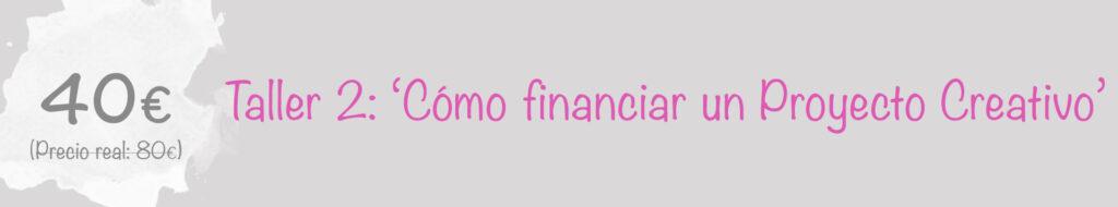 Cómo financiar proyectos creativos