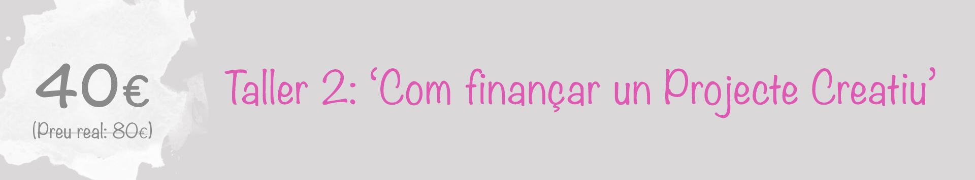 Financiar projecte creatiu